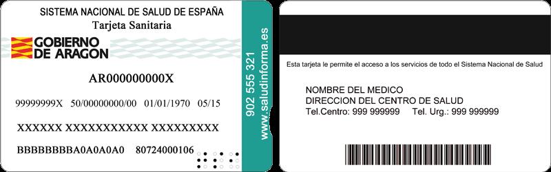 Tarjeta Sanitaria de Aragón